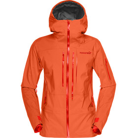 Norrøna W's Lofoten Gore-Tex Pro Jacket Orange Alert